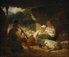 Bengt-Nordenberg-Herdefamilj-med-getter