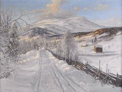 Carl-Brandt-Norrlandskt-vinterlandskap-med-Areskutan-i-fonden-big